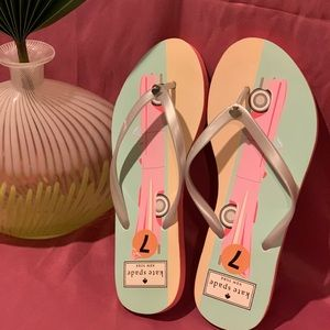 Kate Spade Slippers, Size 7.